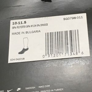 Nike Underwear & Socks - Nike Elite Cushioned NoShow Unisex Golf made socks